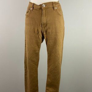 BLUENOTES Slim Fit Tan Pants